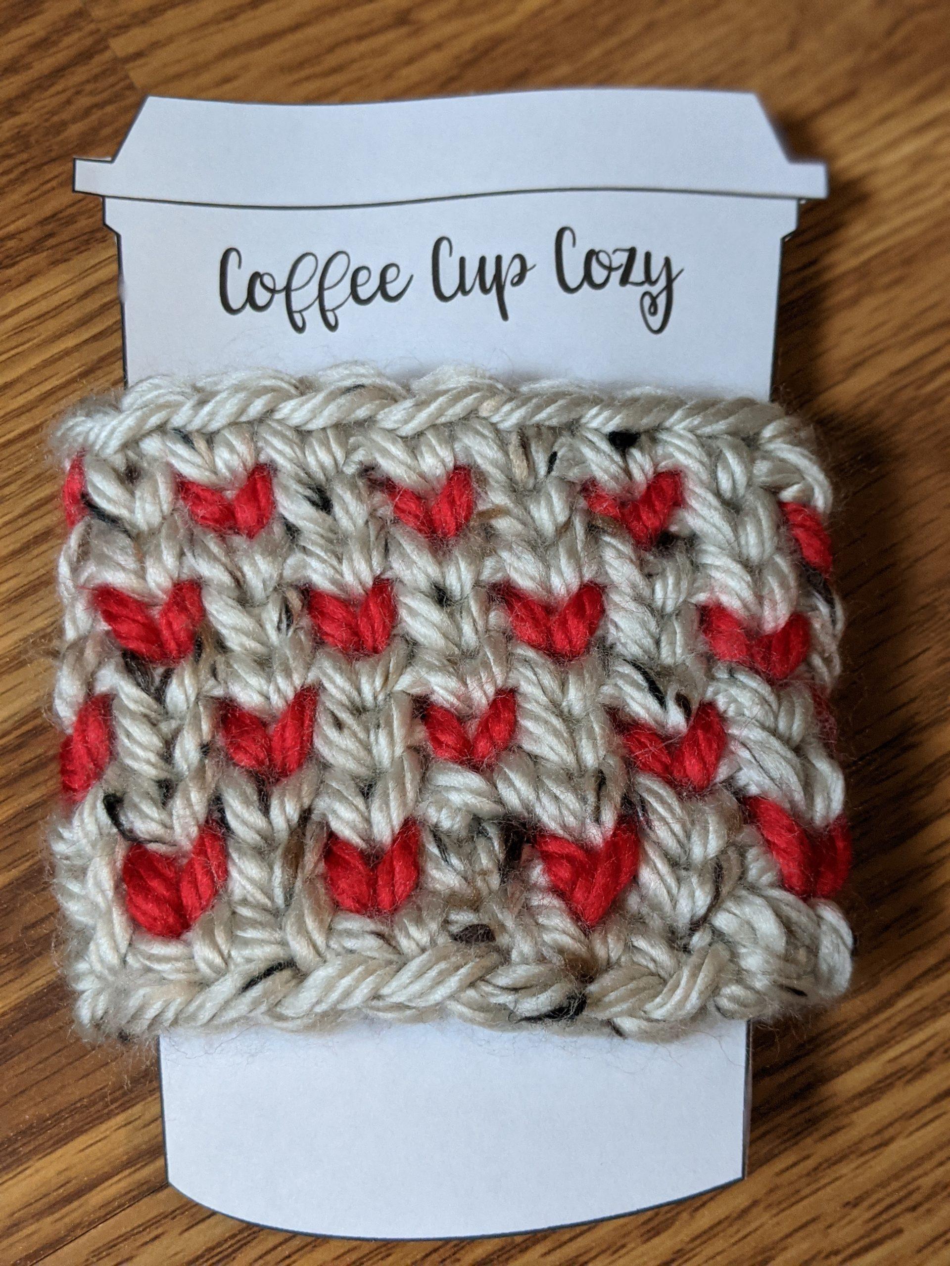 Hearts Cup Cozy