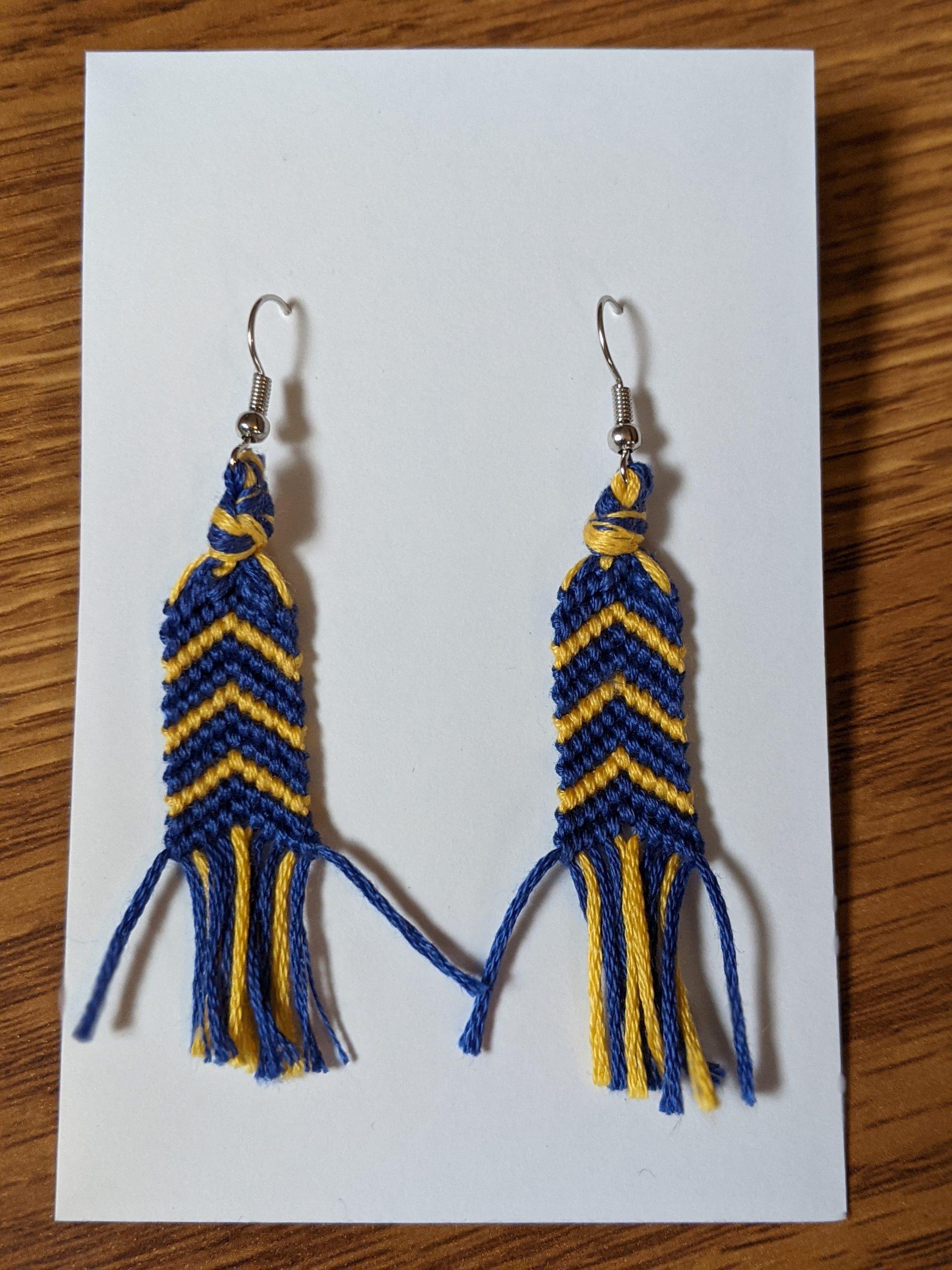 The Lucky Few hanging earrings