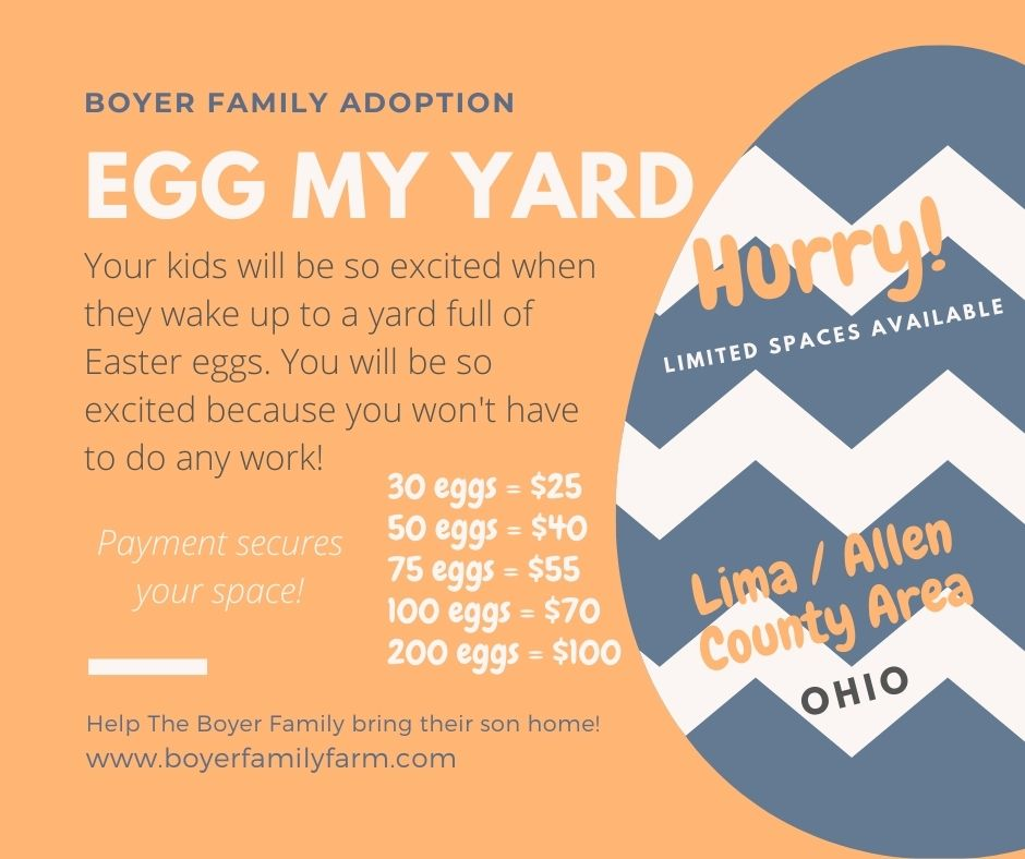 Egg your yard