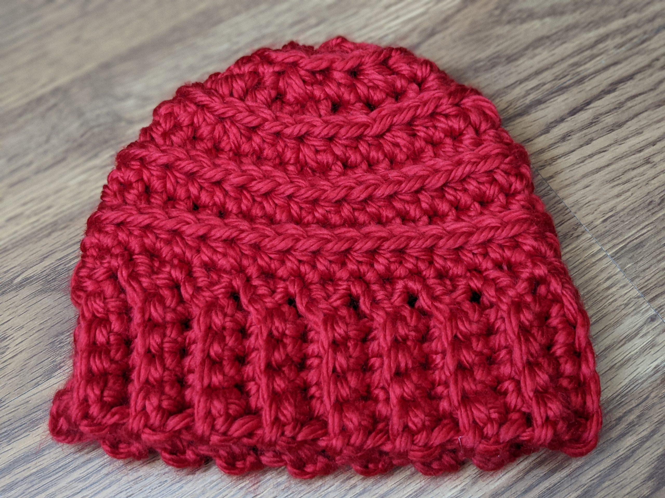 Cincinnati Red beanie hat - beehive