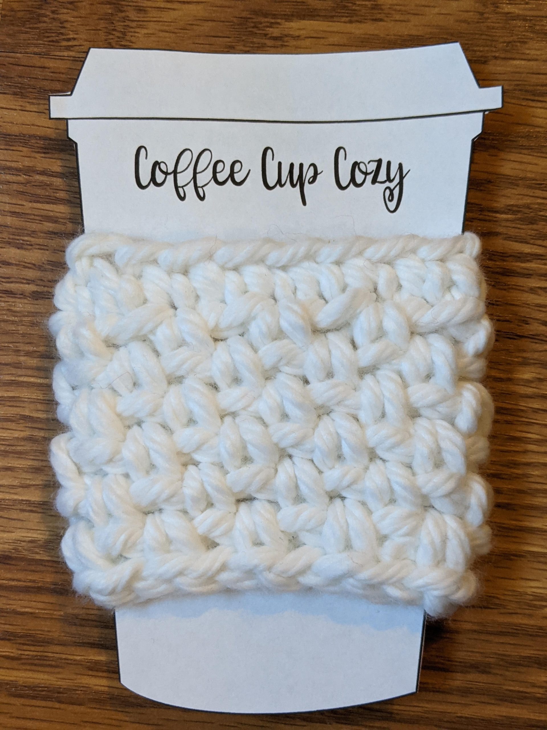 White Cup Cozy